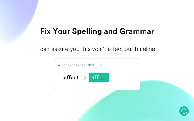 Grammarly- best chrome extensions for bloggers
